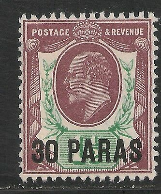 British Levant #26 (SG #29) VF MNH - 1911 30pa King Edward VII