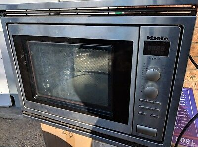 Miele built-in convection microwave oven, good condition.