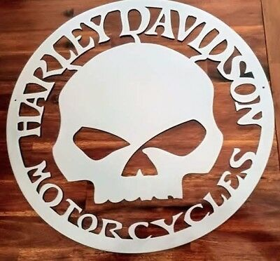 Harley Davidson  Willie G.Skull Metallschild