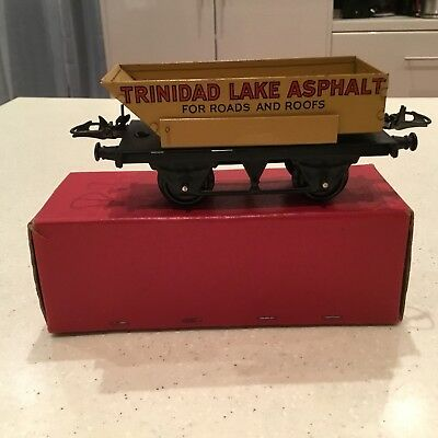 HORNBY O GAUGE No 5o Rotary Tipping Wagon Boxed Excellent Condition.