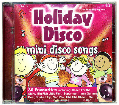 HOLIDAY DISCO Mini Disco Songs CD Kids Favourites  NEW & WRAPPED FROM PUBLISHER