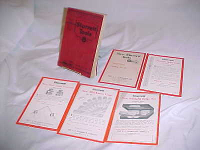 1924 L S  Starrett Mechanical Tools Catalog No. 23 +Insert Illustrated w/Prices