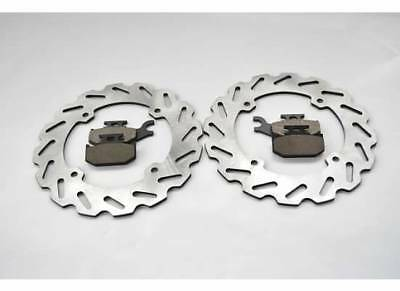 2014 Can-Am Commander Max 1000 DPS Rear Sport Brake Rotor Disc & Brake Pads