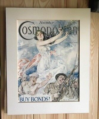 Rare 1918 Cosmopolitan Magazine Cover - Howard Chandler Christy's Victory
