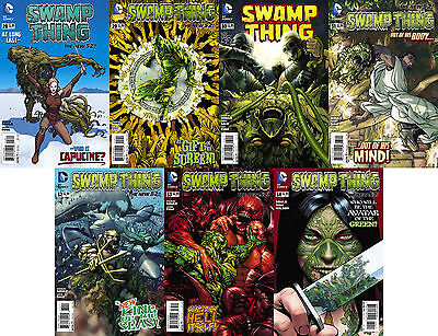 Swamp Thing (2014) 28 - 34 NEW 52