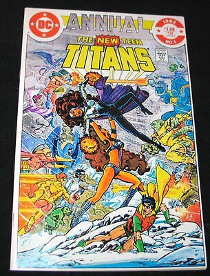 1982 Dc Tales Of The Teen Titans Annual #1 N-Mint Copy