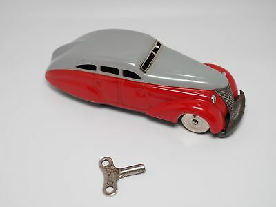 Original SCHUCO Patent 1010 Maybach - Made in US Zone Germany rot grau