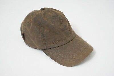dfd97effd58 MENS BARBOUR WAX Baseball Cap Olive One Size -  29.00