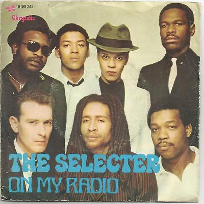"THE SELECTER on my radio / too much pressure 7"" 45 Portugal PS Ska Reggae 1979"