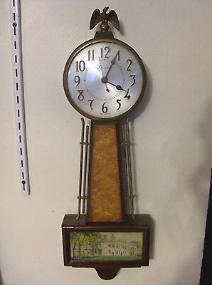 Very Nice Vintage Session Banjo Electric Wall  Clock