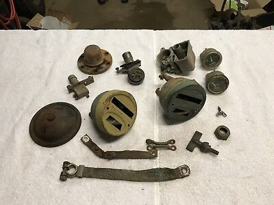 Original Parts Lot Ford GPW GPA Willys MB Army Jeep Slat Grill Military