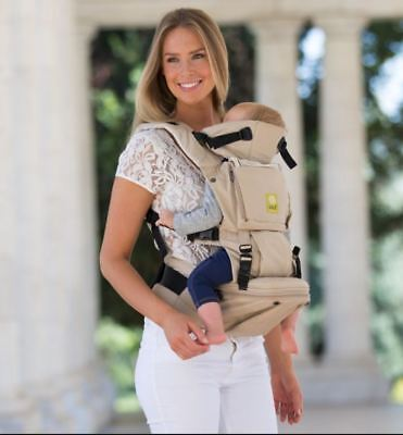 LILLE baby SeatMe Hip Seat Baby Carrier - SAND-NEW
