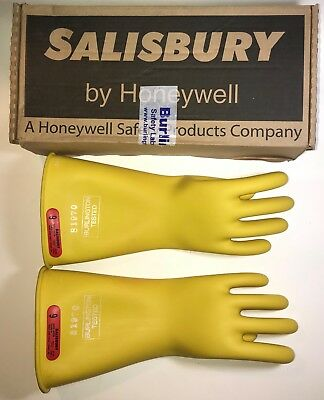 New Salisbury W10-2722 Size 9 Rubber Protective Low Voltage Gloves