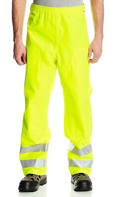 Carhartt High Visibility Forse Rain Pants XL Extra Large water proof New