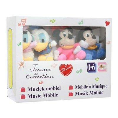 Mickey Mouse Disney Baby Wind Up Crib Musical Cot Mobile 0 M+