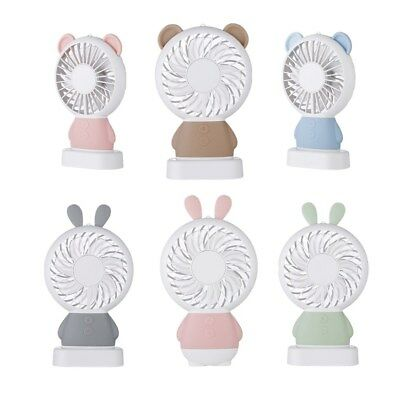 Mini Portable Hand Held Home Desk Outside Travel Fan USB Recharable Quiet Fan AU