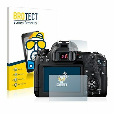 Canon EOS 77D,  2 x BROTECT® Matte Screen Protector, anti-glare