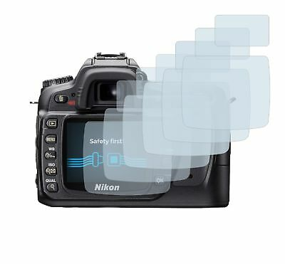 Nikon D80 DSLR Camera, 6 x Transparent ULTRA Clear Camera Screen Protector