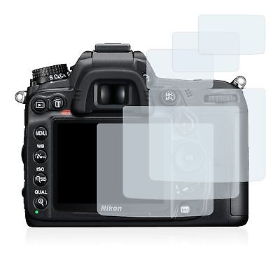 Nikon D7000 DSLR Camera, 6 x Transparent ULTRA Clear Camera Screen Protector