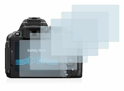 Nikon D5300 DSLR Camera, 6 x Transparent ULTRA Clear Camera Screen Protector