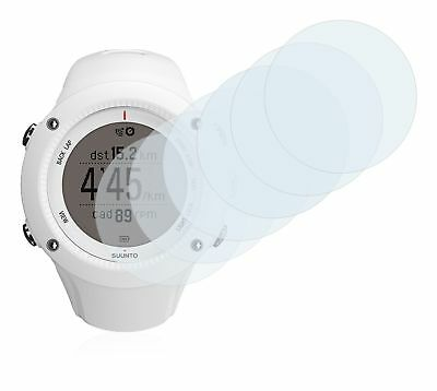 Suunto Ambit2 R White  Smart Watch, 6x Transparent ULTRA Clear Screen Protector