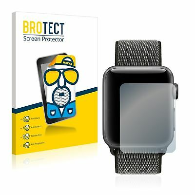 Apple Watch Series 3 (38 mm),  2 x BROTECT® Matte Glass Screen Protector