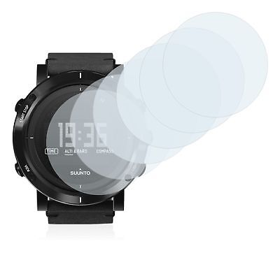 Suunto Essential Carbon Smart Watch, 6x Transparent ULTRA Clear Screen Protector