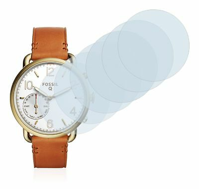 Fossil Q Tailor Smart Watch,  6x Transparent ULTRA Clear Screen Protector