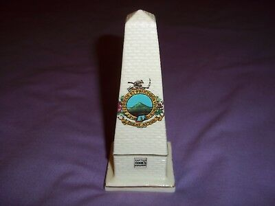 Carlton - Model of Captain Cooks Monument-Great Ayton  rare excellent condition