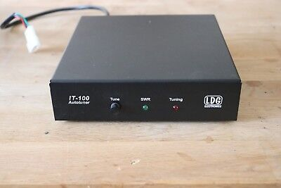 LDG IT-100 ATU Automatic Antenna Tuner for ICOM (incl IC 7100) Great  condition