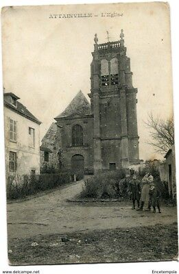 CPA-Carte postale-  FRANCE -  Attainville - L'Eglise -1920 ( CP3833 )