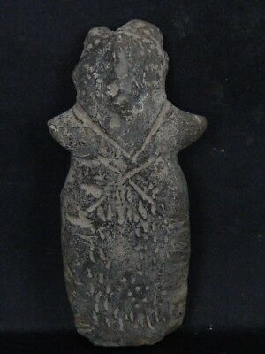 Ancient Teracotta Mother Goddess Indus Valley 1000 BC No Reserve  #IK444