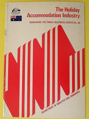 The Holiday Accommodation Industry