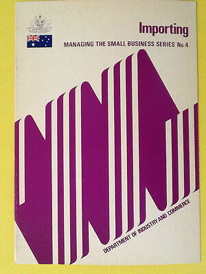 IMPORTING. Small business Series No.4