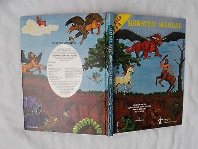 MONSTER MANUAL 1977 AD&D 1st EDITION  ADVANCE DUNGEONS & DRAGONS SEHR GUT