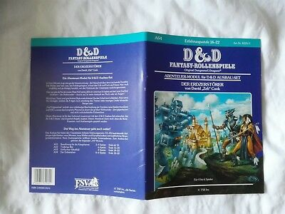 As4 Der Erdzerstörer  Modul D&d Dungeons & Dragons