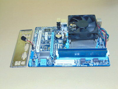 Mainboard Bundle, Gigabyte GA-A75M-DS2, AMD A8-3870k, 4 GB DDR3-1600 RAM