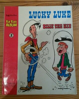 "Fix und Foxi Album 2 / Lucky Luke ""Billy the kid"""