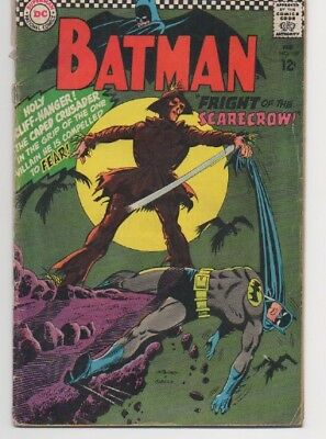 Batman #189 1st Silver Age Appearance Of Scarecrow DC Comics