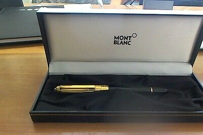 Montblanc Meisterstuck Solitaire Doue Gold Plated 144 pennino M
