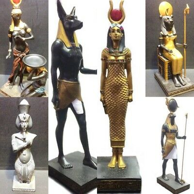 ancient egyptian statue egypt sculpture gift figure horus collectible figurine