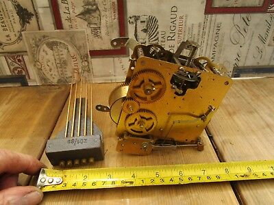 Vintage  Westminster Chime Clock Movement For Spares Or Repair