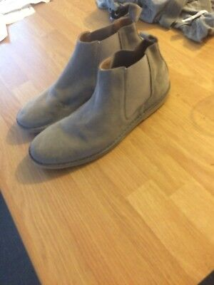 Mens Grey River Island Boots size 9