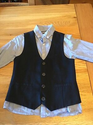 Next Boys Shirt, Waistcoat and Trousers age 5-6 years