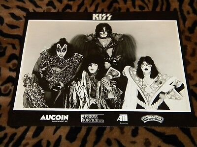 KISS Army Kit Photo Insert ORIGINAL! (auction 1)