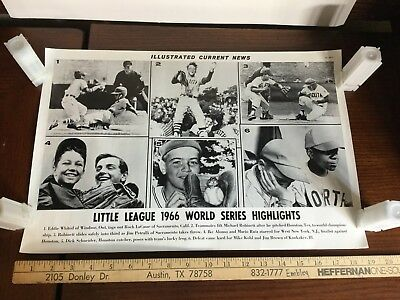 Illustrated Current News Photo - Little League World Series 1966 Houston Texas