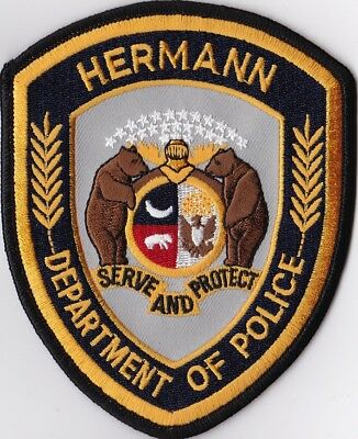 Hermann  Police Patch Missouri MO NEW !!!
