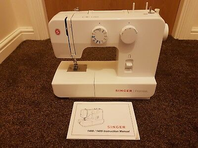 SINGER PROMISE 40 Sewing Machine With All Accessories Manual Cool Singer Sewing Machine 1409 Manual