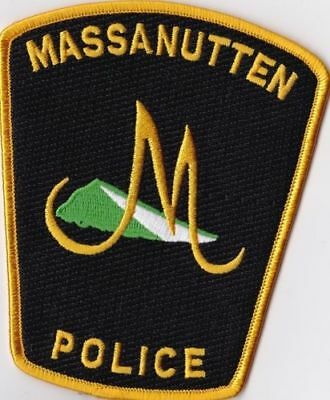 Massanutten Police Patch Virginia VA NEW !!!