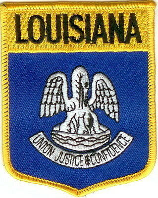 Louisiana Union Justice and Confidence Police Patch Louisiana LA NEW